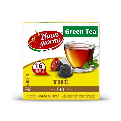 Dolce Gusto Green Tea (16 Capsules)