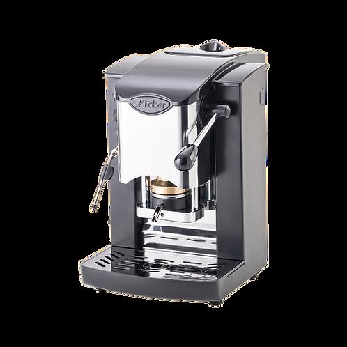 MINI SLOT INOX PODS (Cialde) HOME COFFEE MACHINE WITH STEAMER