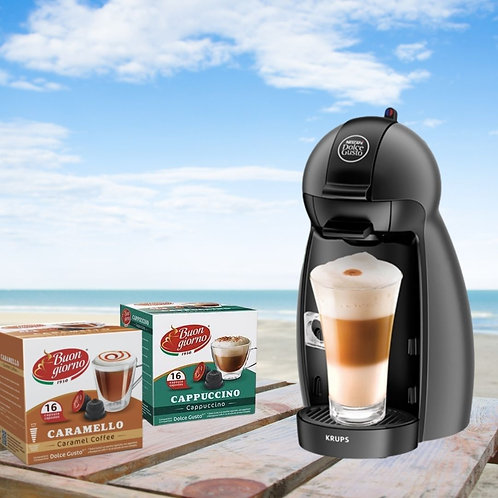 Piccolo Dolce Gusto Machine +2 Boxes of Free Coffee