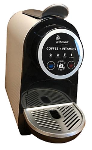 La Natura System Nespresso® compatible capsule machine (White & Black)