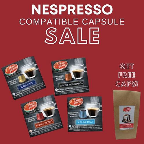 SALE: 2 boxes of Nespresso Compatible Capsules (50pcs) + Get 1 box FREE
