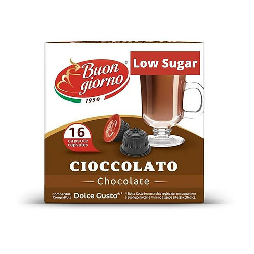 Dolce Gusto Compatible Chocolate - Low Sugar (16 Capsules)
