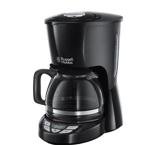 Russell Hobbs Coffeemaker 1.25ml Texture plus Black