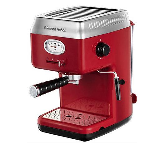 Russell Hobbs Espresso Coffeemaker Retro Red