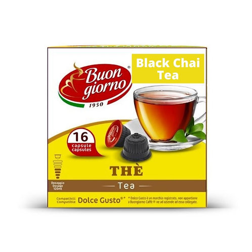 Dolce Gusto Black Chai Tea (16 Capsules)