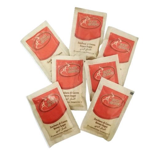 Box of 5KG Brown Sugar Sachets (1000 x 5g each sachet)