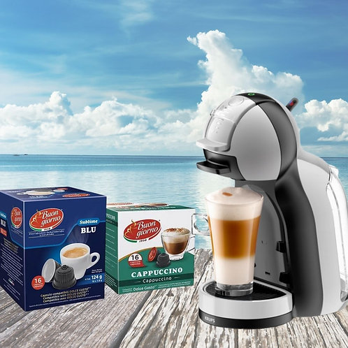 Mini Me Gusto Machine +2 Boxes of Free Coffee