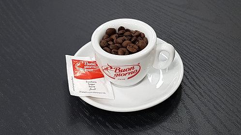 1 Espresso Cup with Saucer - Caffè Buongiorno