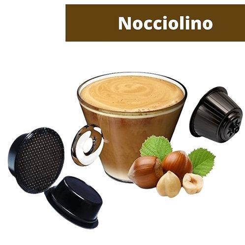 A Modo Mio compatible Nocciolino capsule 5,5 gr.  Pack of 16 pieces