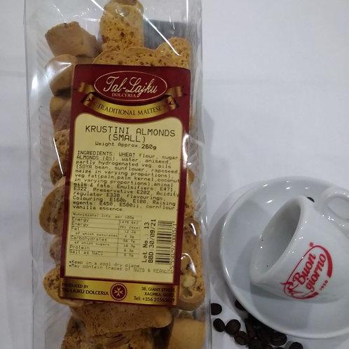 Small Almond Krustini 260grm