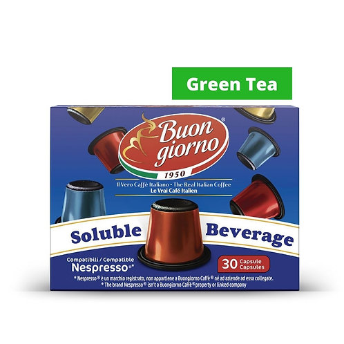 Nespresso Green Tea (30 Capsules)