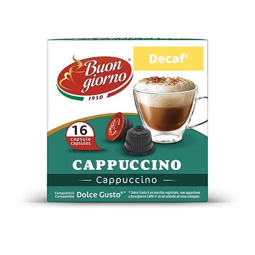 Dolce Gusto Cappuccino Decaf (16 Capsules)