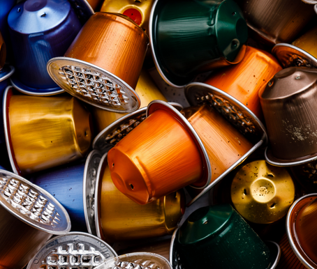 Ways to recycle your coffee capsules.