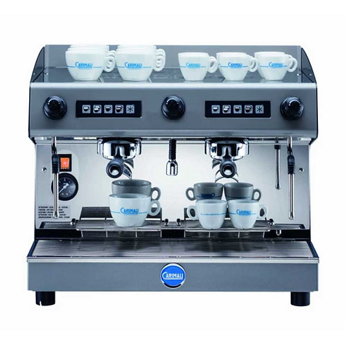 Carimali Pratica 2 Group Professional Coffee Machine - Semi Automatic