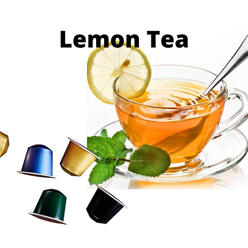Nespresso Lemon Tea (50 Capsules)