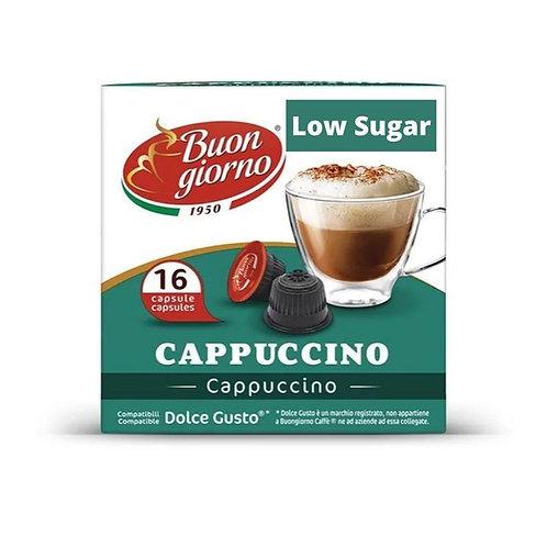 Dolce Gusto Cappuccino Low Sugar (16 Capsules)