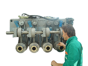 overhaul extruder machine Elematic