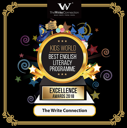 Best English Literacy Programme Award The Write Connection, Kids World Award