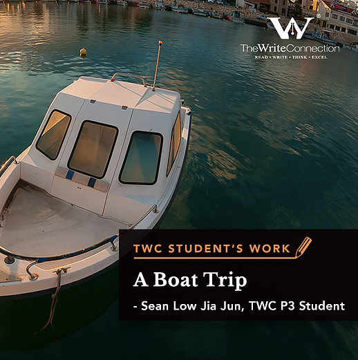 A Boat Trip, TWC Student's Composition, Model Composition