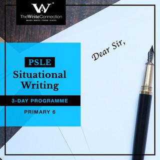 PSLE Situational Writing
