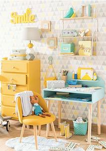 desk organisation ideas, bright