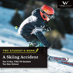 A Skiing Accident, TWC Student's Composition, Model Composition