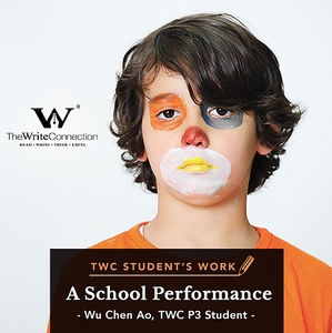 A School Performance, TWC Student's Composition, Model Composition