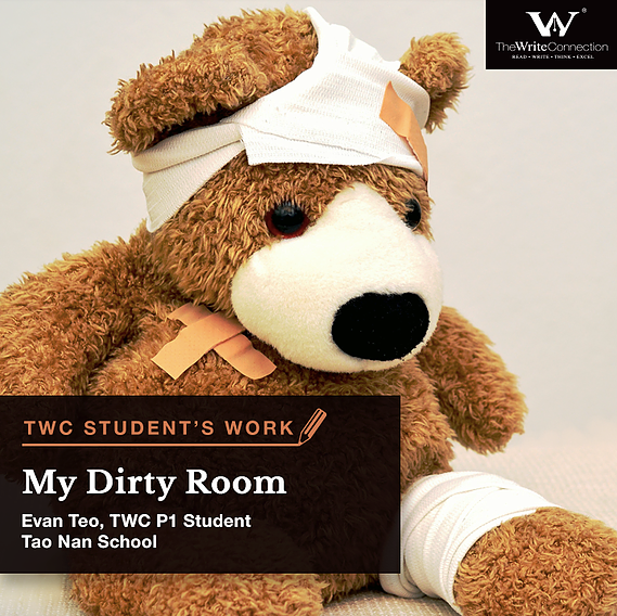 My Dirty Room, TWC Student's Composition, Model Composition