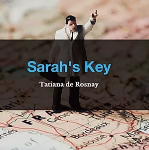 Sarah's Key by Tatiana de Rosnay, Book List, TWC Reading Nook