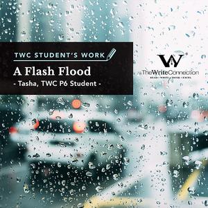 A Flash Flood, TWC Student's Composition, Model Composition