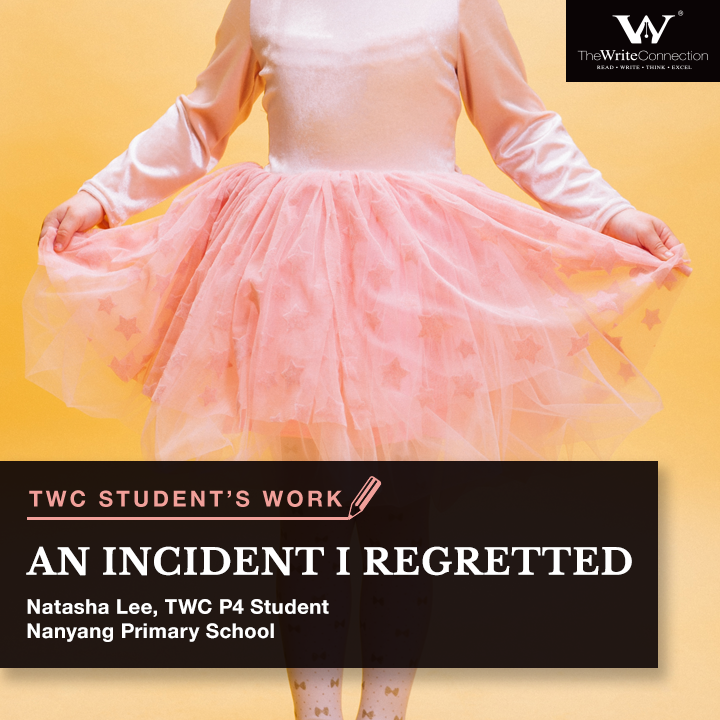 An Incident I regretted, TWC Student's Composition, model composition