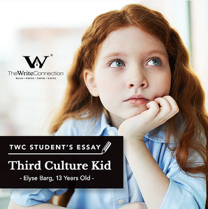 Third Culture Kid, TWC Student's Composition, Model Composition