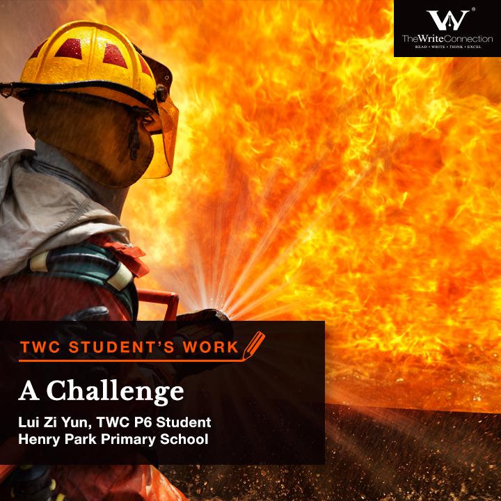 A Challenge, TWC Student's Composition, Model Composition