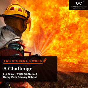 A Challenge, TWC Student's Composition, Model Composition