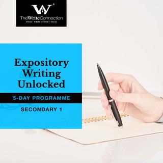 New! Expository Writing Unlocked