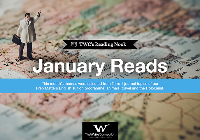 January Reads, Book List, TWC Reading Nook