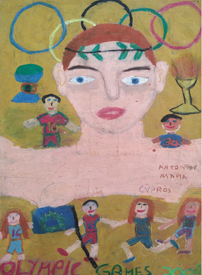 ANTONIOY MARIA 11 YEARS OLD FROM CYPRUS
