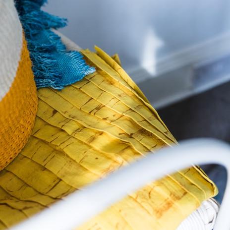Turmeric Dyed Fabric.