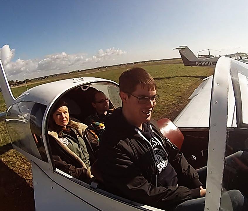 passengers fly vintage