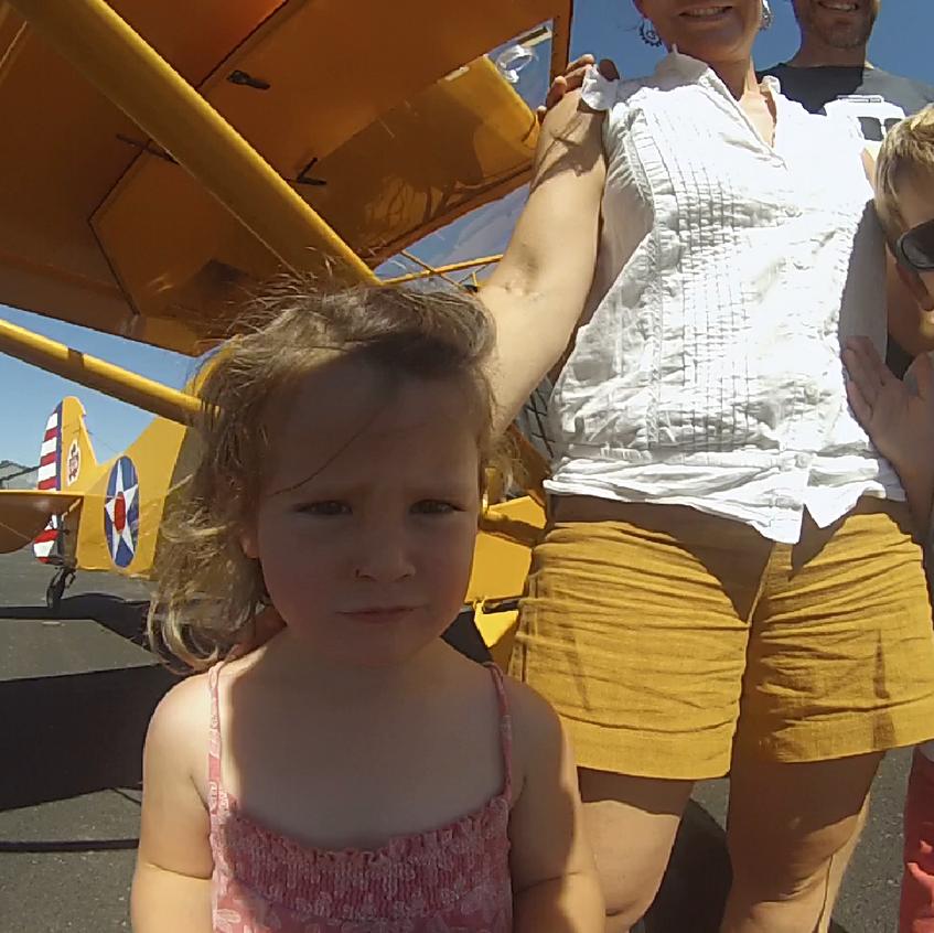 kids fly vintage