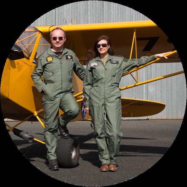 FLY Vintage, le plaisir de voir la Terre vue du ciel avec Capitaine Tom, ancien pilote de chasse