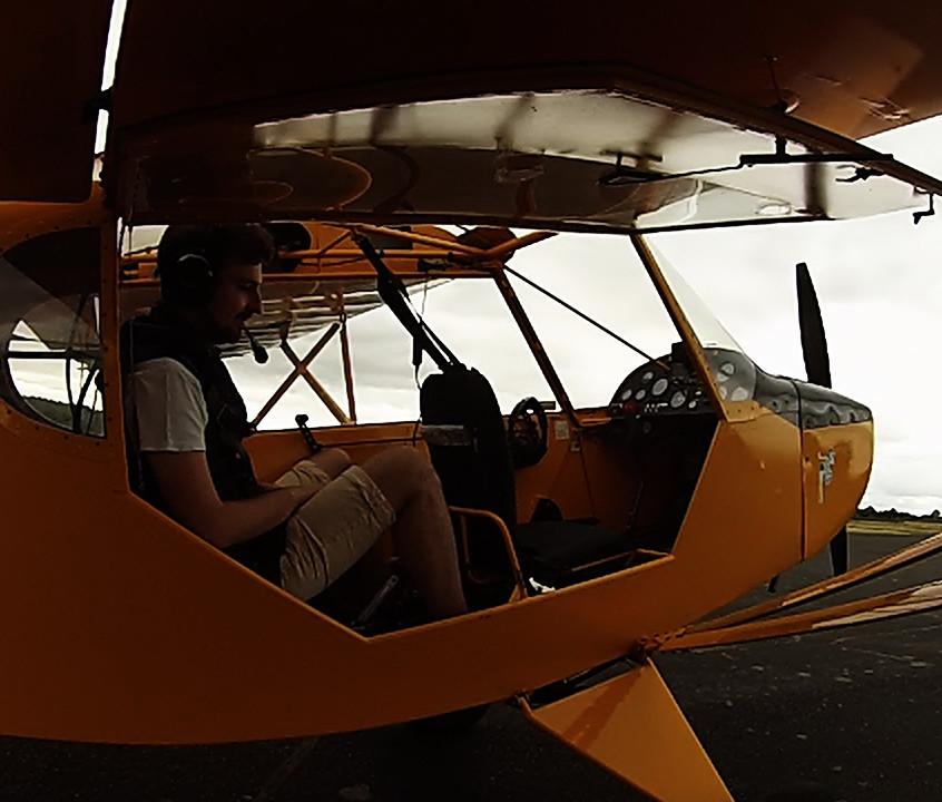 cockpit  fly vintage