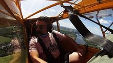 Vol de Angy depuis Saumur