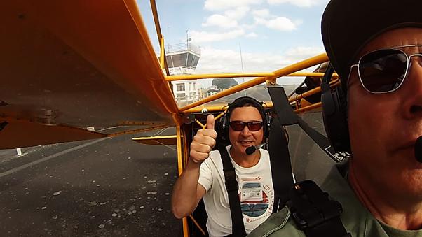 Vol d'initiation au pilotage de Jérôme