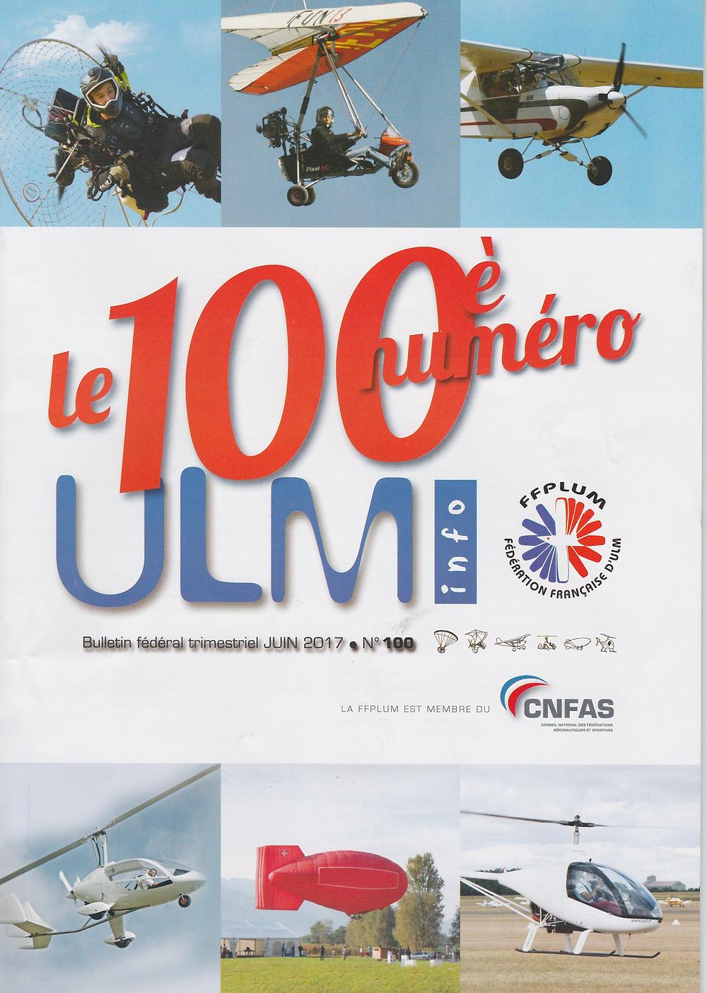 ULM info, magazine aéronautique FFPLUM