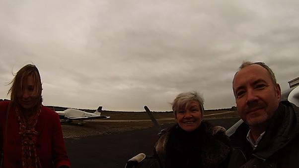 Vol de Danièle au dessus du Cap d'Agde