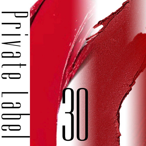Private Label - 30 Tubes