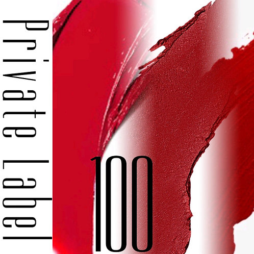 Private Label - 100 Tubes