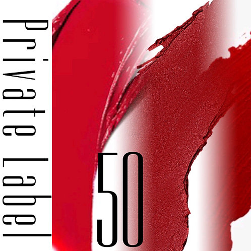 Private Label - 50 Tubes
