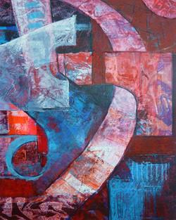 Komposition 40x50cm